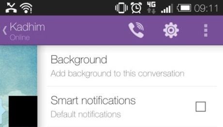 Smart Notifications in Viber