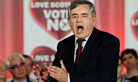 Spoils of bruising Scottish referendum battle could go to Gordon Brown