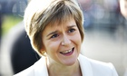 Nicola Sturgeon, deputy first minister of Scotland