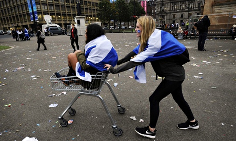 Pro-independence scotland