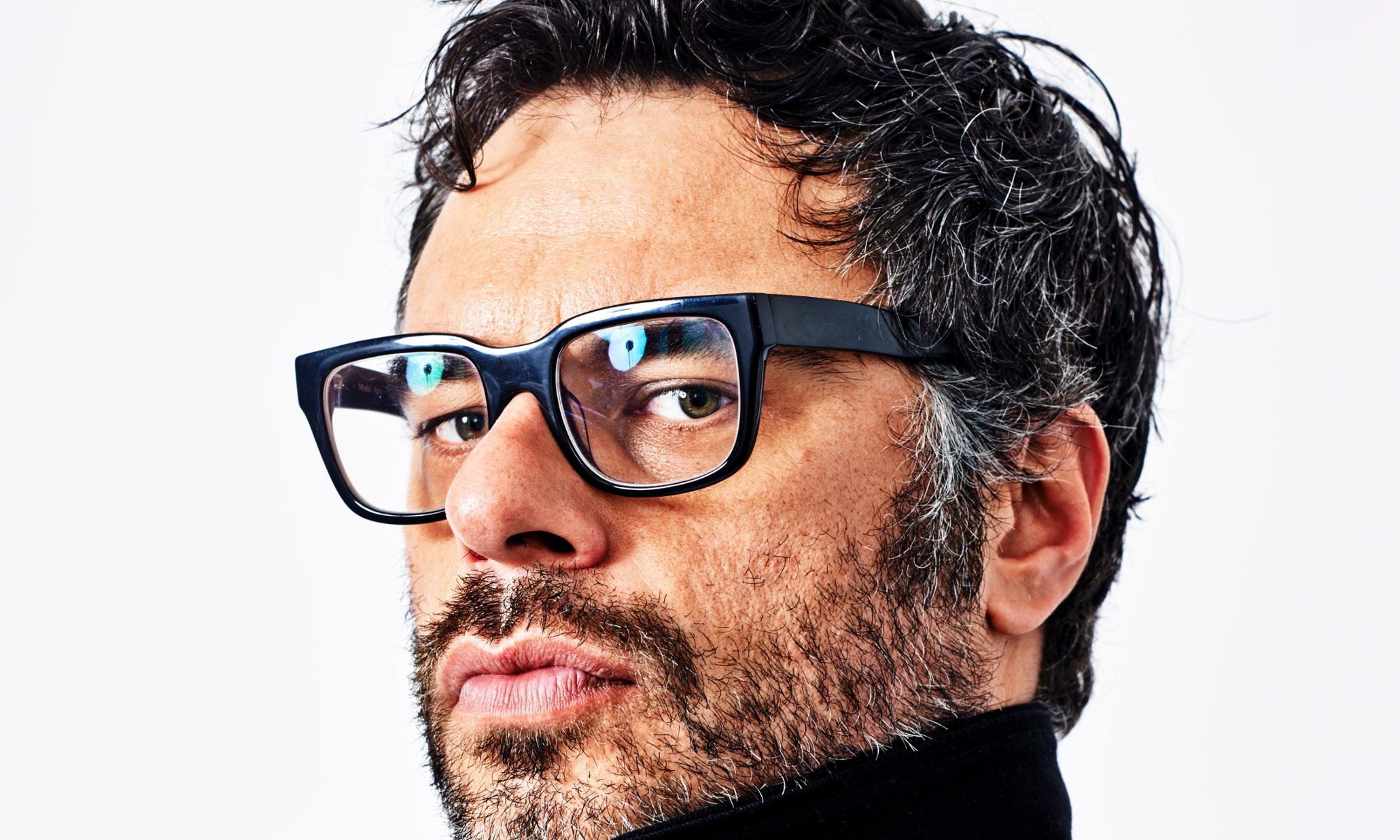 jemaine clement - shiny text