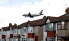 Heathrow airport traffic