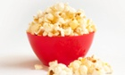 A bowl of popcorn - all gone if you're watching The Island