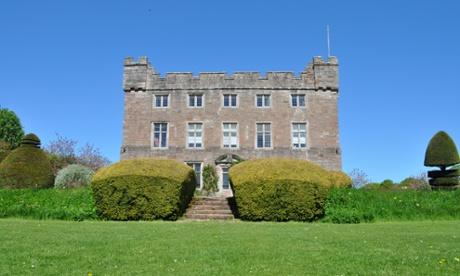 The front of Askham Hall, Cumbria.