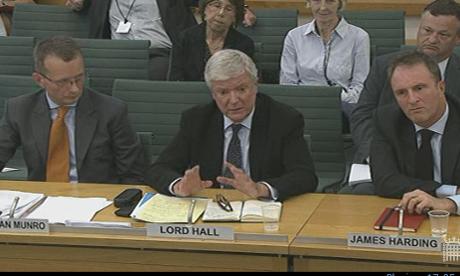 Jonathan Munro, Lord Hall and James Harding