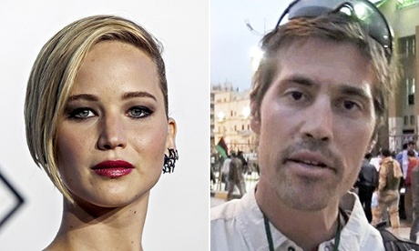 Naked celebrity pics and the James Foley video: how many have clicked?