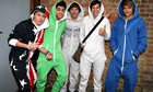 One Direction in onesies
