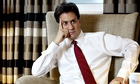 Ed Miliband at the Midland Hotel in Manchester this week.