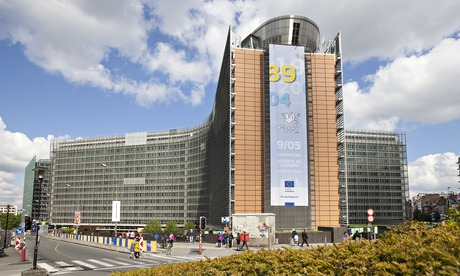The Berlaymont building, which houses the European commission.