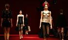 The Dolce & Gabbana spring/summer show at Milan fashion week.