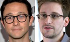 Joseph Gordon-Levitt and Edward Snowden