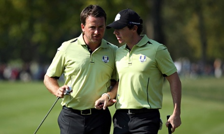 Rory McIlroy and Graeme McDowell may be split amicably for Ryder Cup