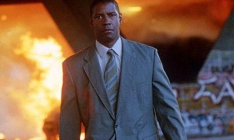 Denzel Washington explosion