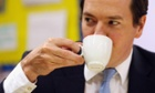 Chancellor of the Exchequer George Osborne sees public borrowing rise in July