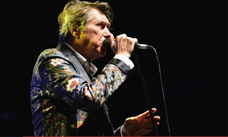 Bryan Ferry performs at the Lowry Salford