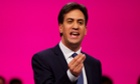 Ed Miliband delivers his speech to the party's annual conference in Manchester
