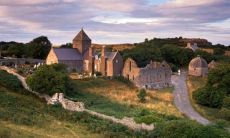 Penmon Priory, Beaumaris, Anglesey, Wales, UK
