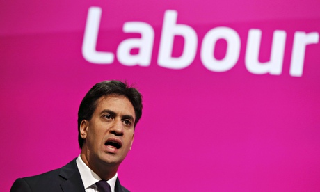 Ed Miliband, leader of Britain's opposition