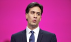 Ed Miliband delivers his speech to the Labour conference