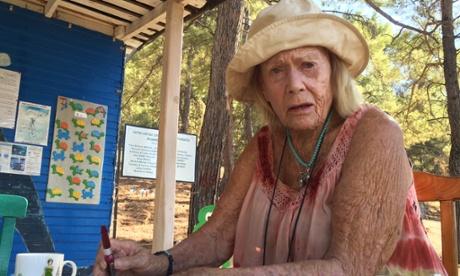 June Haimoff of the Sea Turtle Conservation Foundation, Dalyan, Turkey