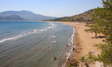 Iztuzu Beach Dalyan Turkey