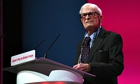 Harry Leslie Smith at the Labour party conference