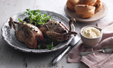 Tom Kerridge's roast grouse