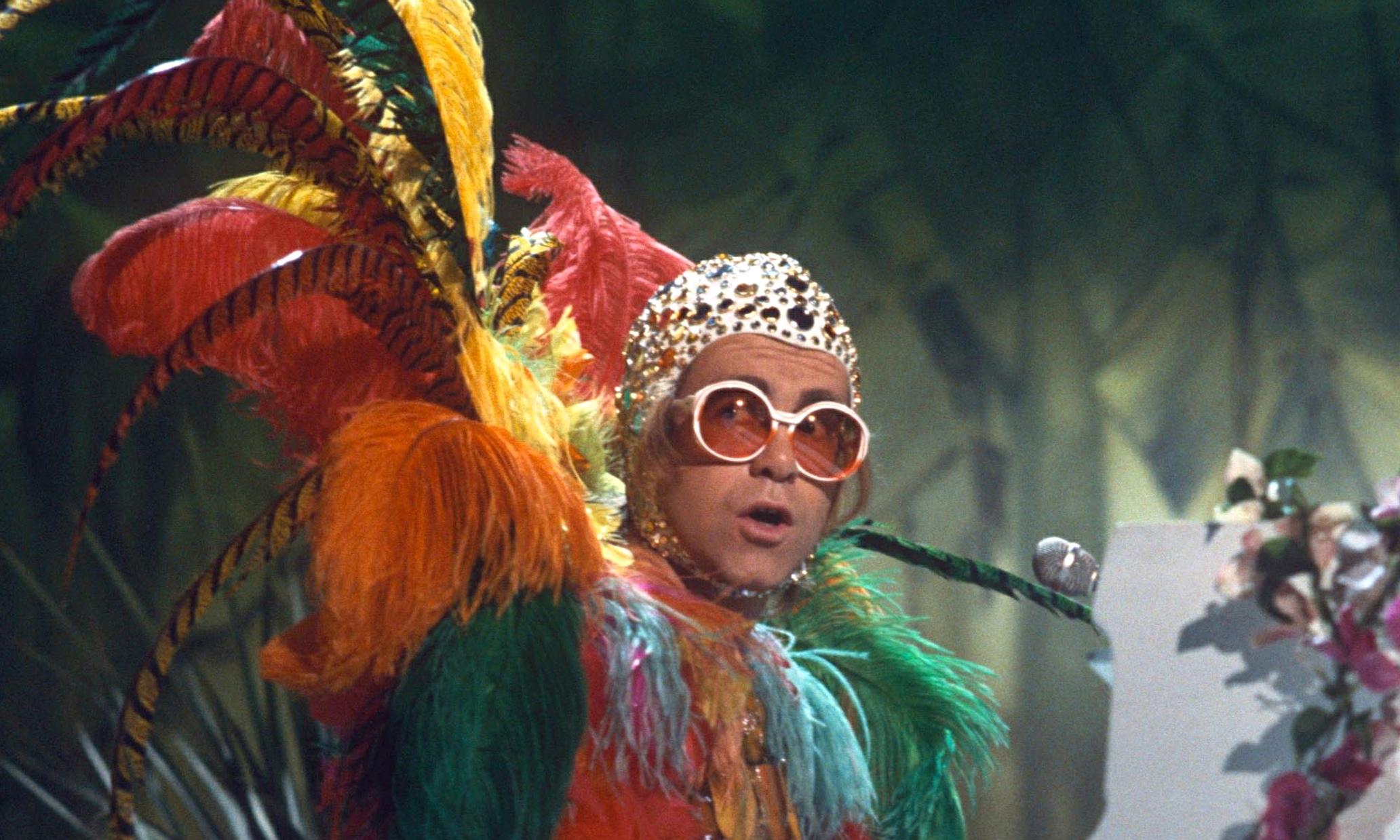 What? Sir Elton John i...