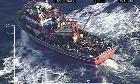 Cruise ship rescues 345 refugees off coast of Cyprus