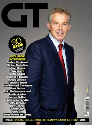 Tony Blair on Gay Times