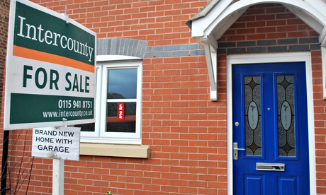 A house for sale in Nottingham. More than two-thirds of the Help to Buy scheme properties are newbui