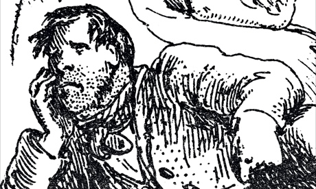 A detail from the cover of Bleak House by Charles Dickens