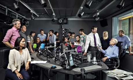 The BBC Radio 4 Today programme team: too complacent? Photograph: Manuel Vazquez for the Guardian