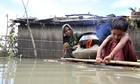 Bangladesh floods cooking