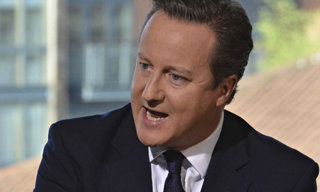 David Cameron said on the Andrew Marr Show that he was sympathetic with the view that Isis had to be defeated in Syria as well as Iraq.