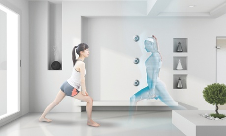 Keep fit in your hotel room with a hologram personal trainer