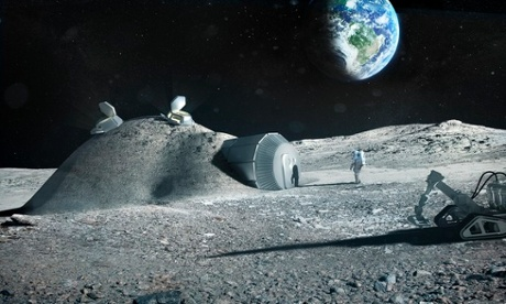 Architecture firm Foster + Partners have been looking into the possibility of constructing a colony on the moon
