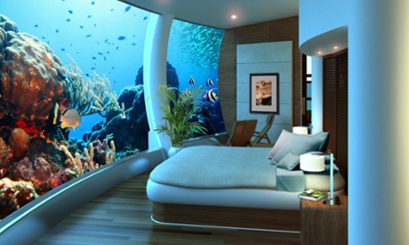 Underwater hotels will become more mainstream in the future - but it'll cost you