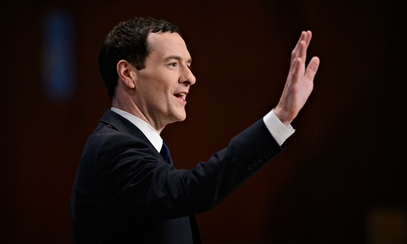 George Osborne at the Conservative party conference in Birmingham, 29 September