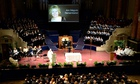 Ann Maguire memorial at Leeds town hall