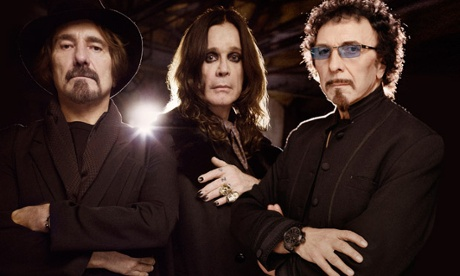 Black Sabbath: 'Geezer' Butler, Ozzy Osbourne and Tony Iommi