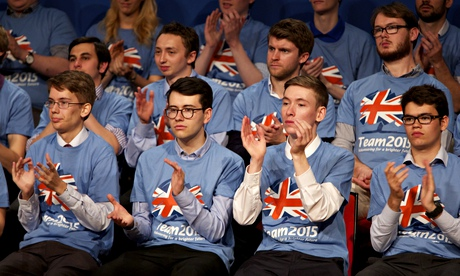 Young Tory activists, party conference in Birmingham.