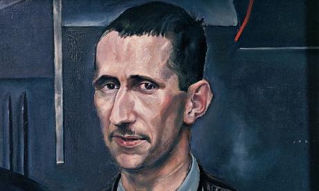 Portrait of Bertolt Brecht (detail)
