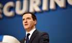 George Osborne at the Conservative party conference