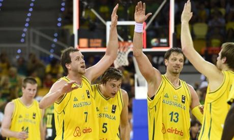 Australia topple Lithuania Basketball World Cup