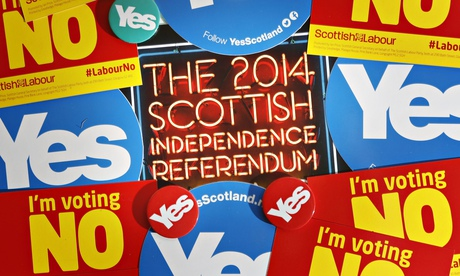 Scottish independence referendum campaign materials