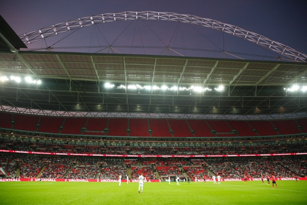 England v Norway international friendly football match at Wembley Stadium on September 3rd 2014 in London (Photo by Tom Jenkins)