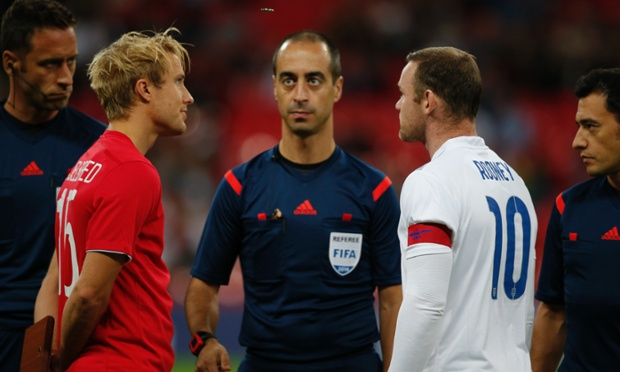 One of his duties is, of course, the coin toss.