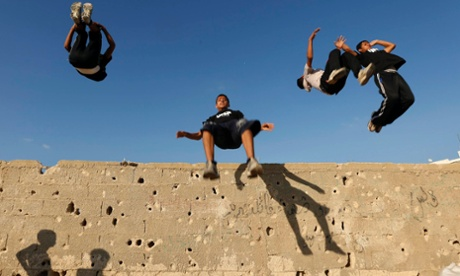 Parkour in Palestine