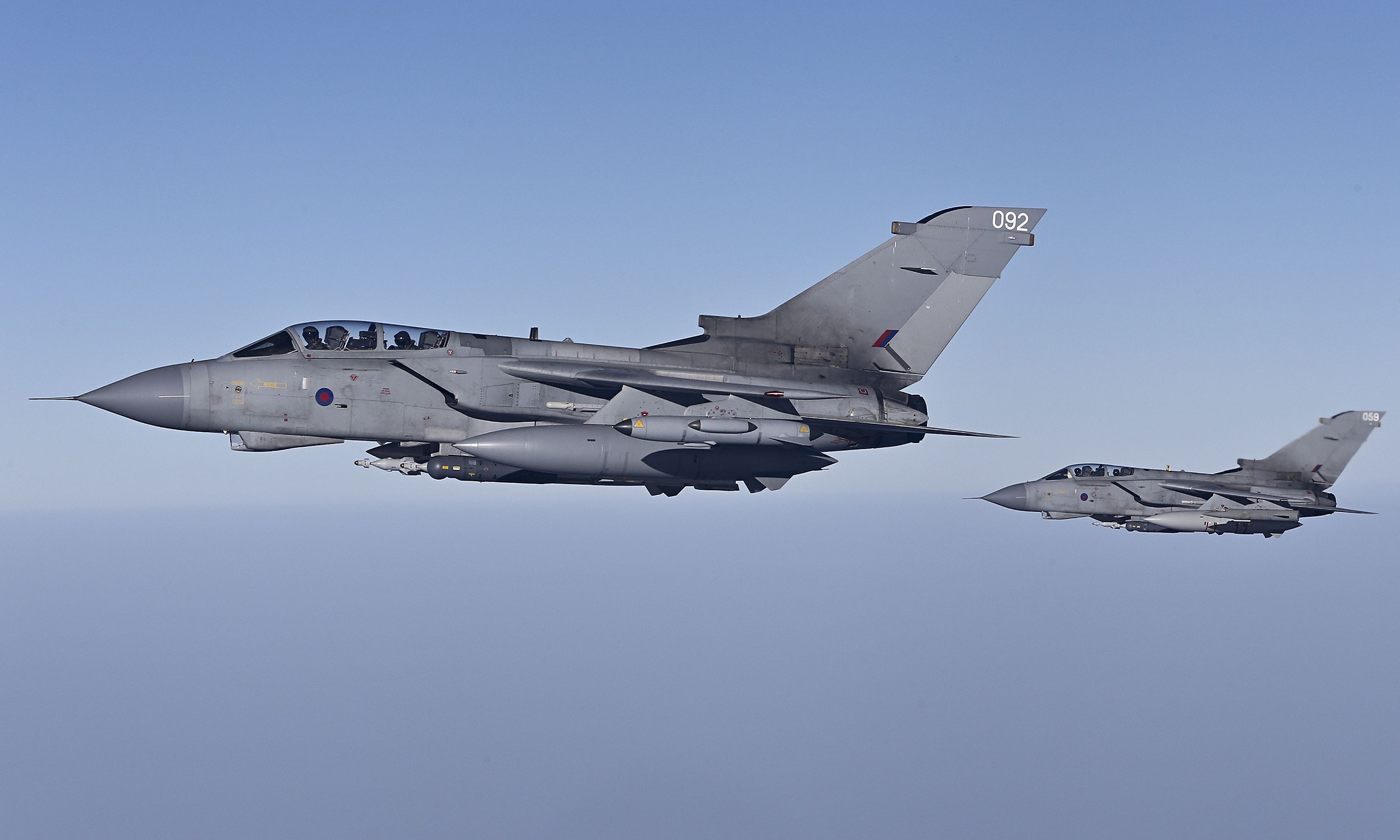 Raf Planes Bomb Islamic State Targets In Iraq For The